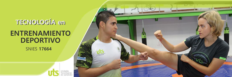 Tecnología en Entrenamiento Deportivo UTS