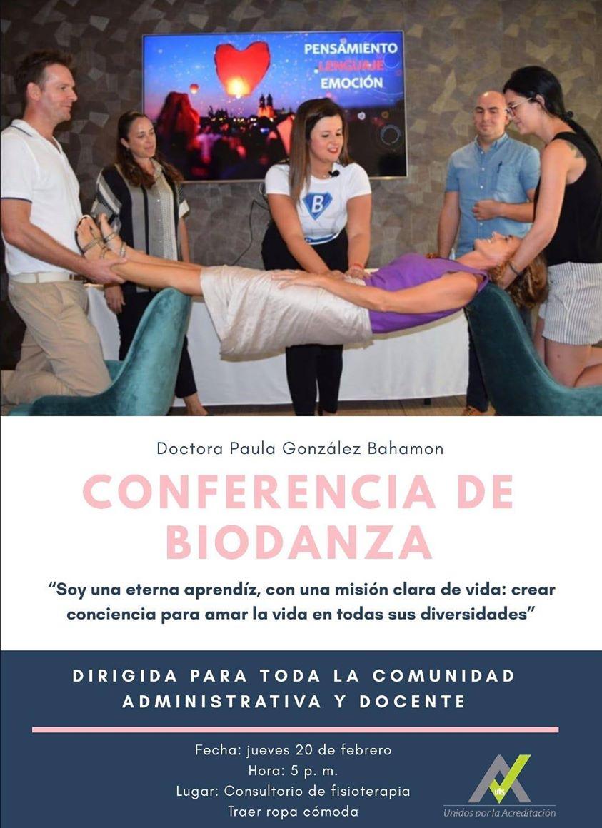 Conferencia de biodanza