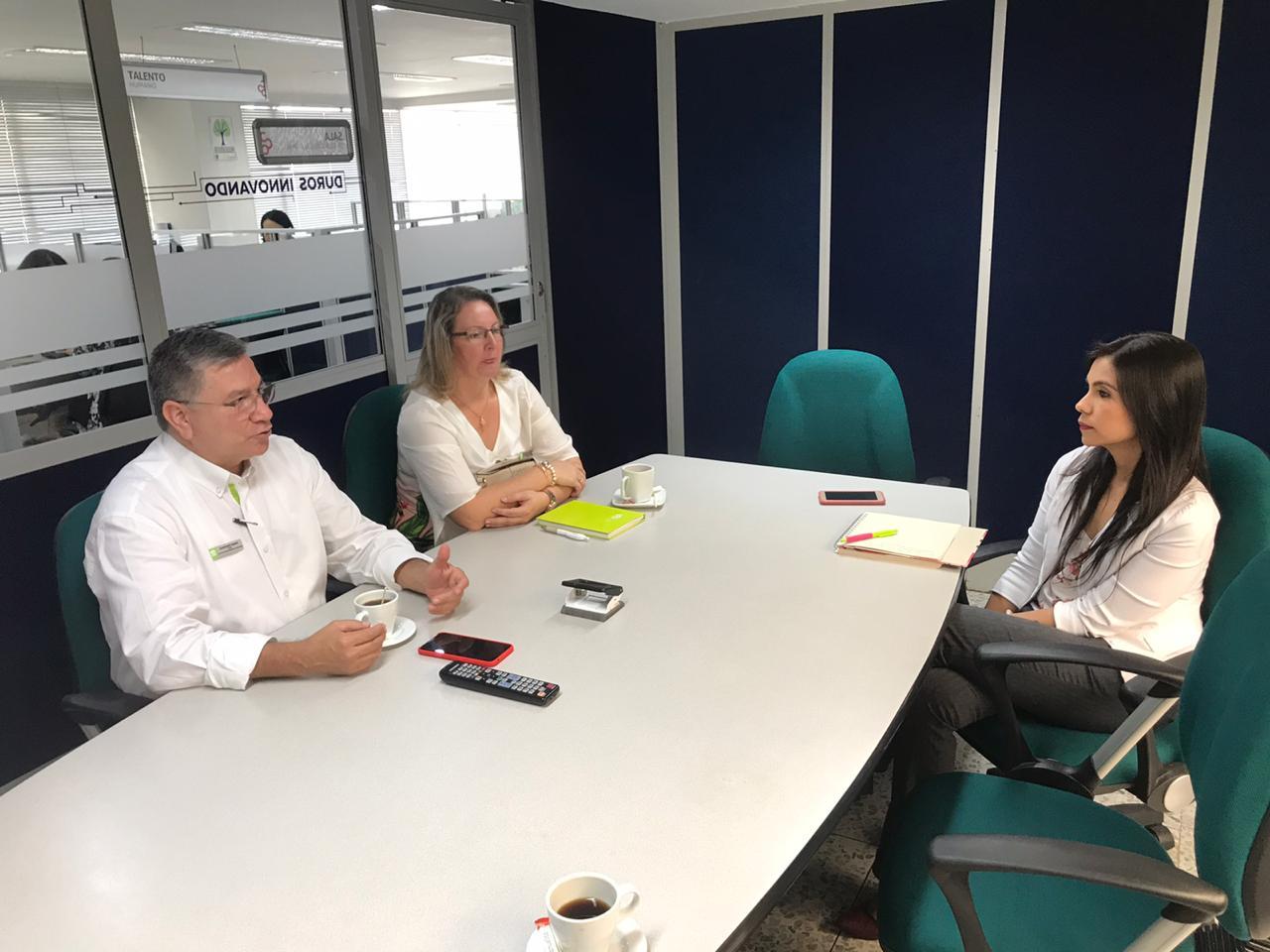 Reunión con la Cámara de Comercio de Bucaramanga