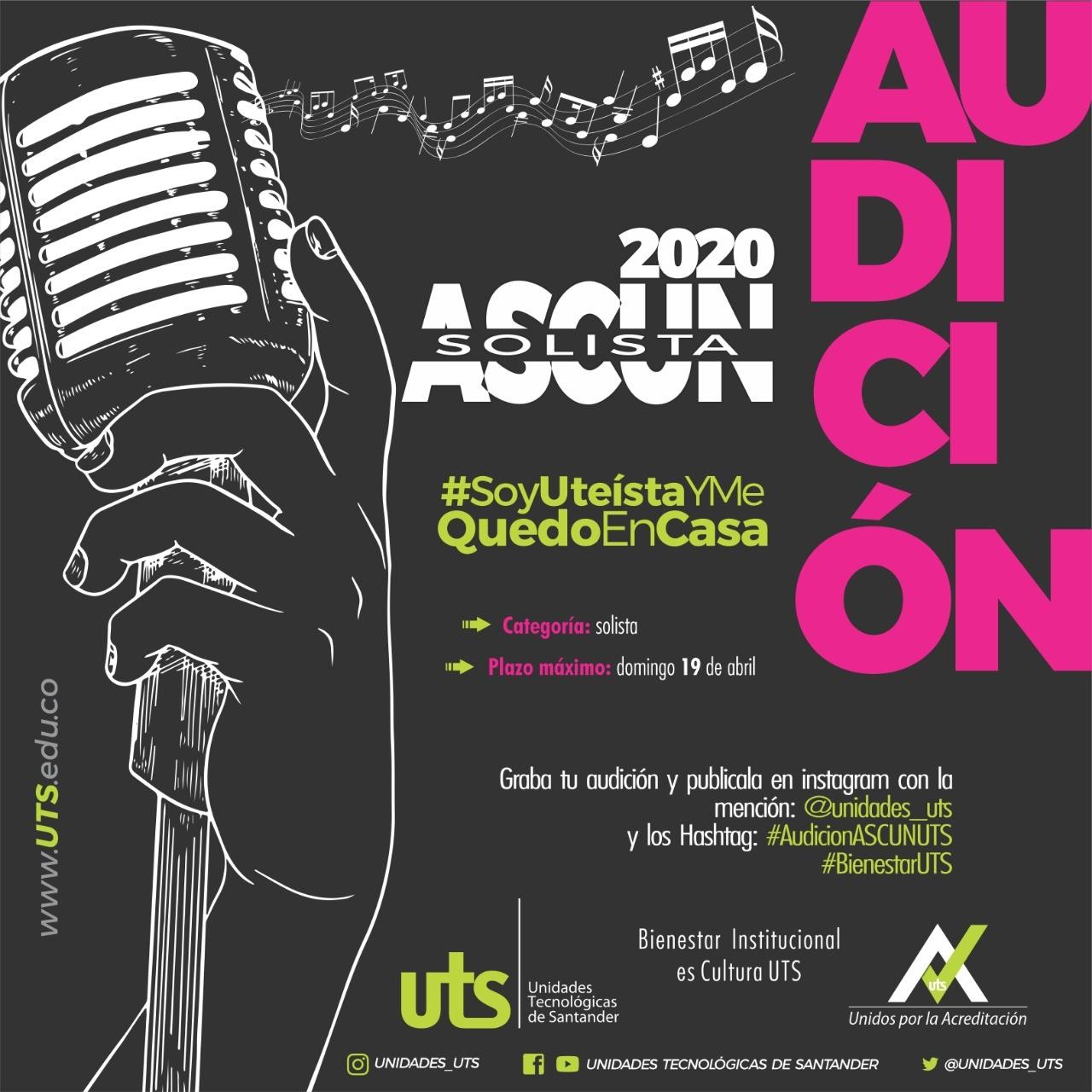 Audición canción solista Ascún