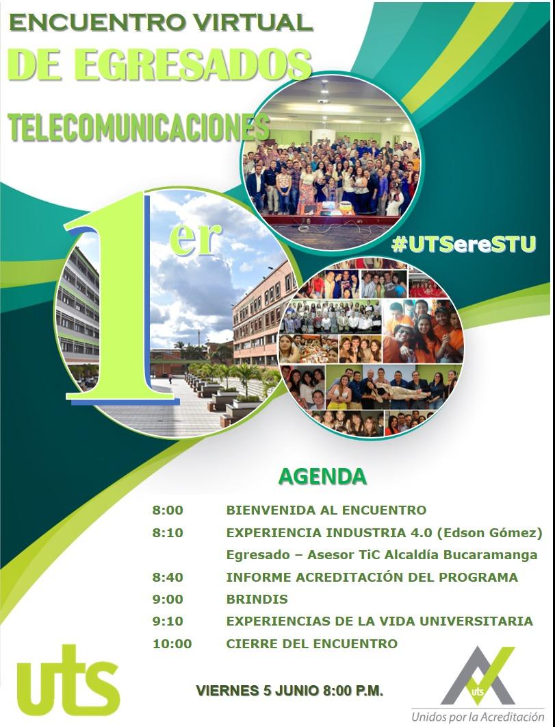 Encuentro de graduados de Telecomunicaciones