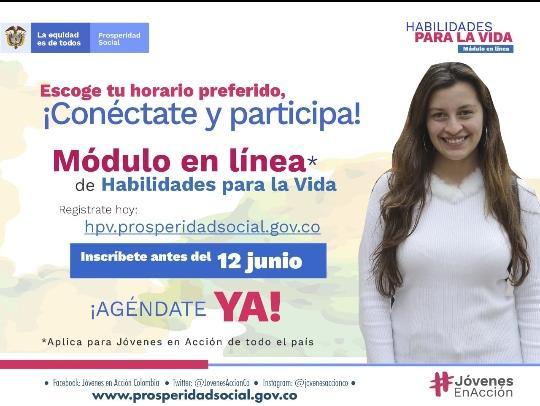 Jóvenes en Acción módulo en línea