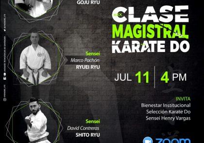 Clase magistral de Karate do