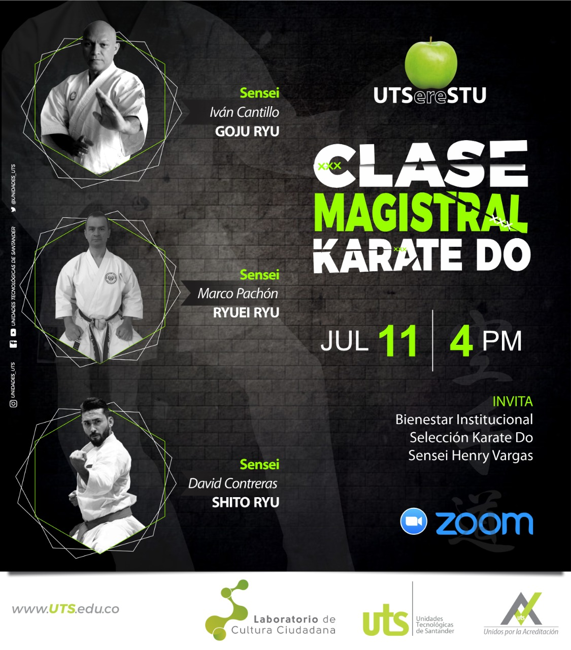 Clase magistral de Karate do